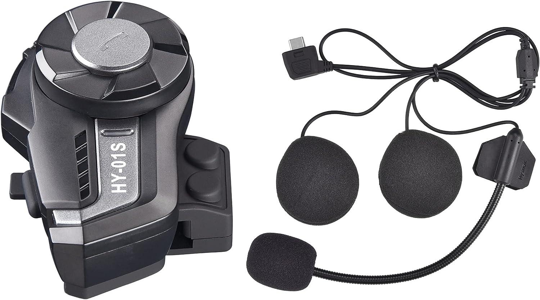 AHR HY-01S price Popularity Motorcycle Bluetooth 5.0 FM Headset Helmet R Intercom