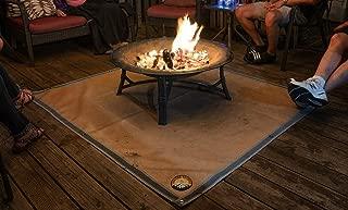 fireproof mat under fire pit