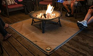 Ember Mat | Fire Pit Mat | Grill Mat | Protect Your Deck, Patio, Lawn or Campsite from Popping Embers