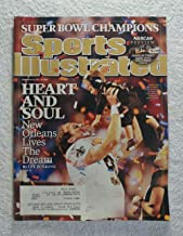 Drew Brees - New Orleans Saints - Super Bowl XXIV Champions! - Sports Illustrated - February 15, 2010 - Indianapolis Colts - SI