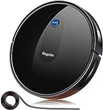 "Robot Vacuum, Bagotte 2.7"" Super-Thin & Quiet,Upgraded 1500Pa Smart Self-Charging Robotic Vacuum Cleaners, Auto Sweeper for Pet Hair Hardwood Floor Carpet Tile"