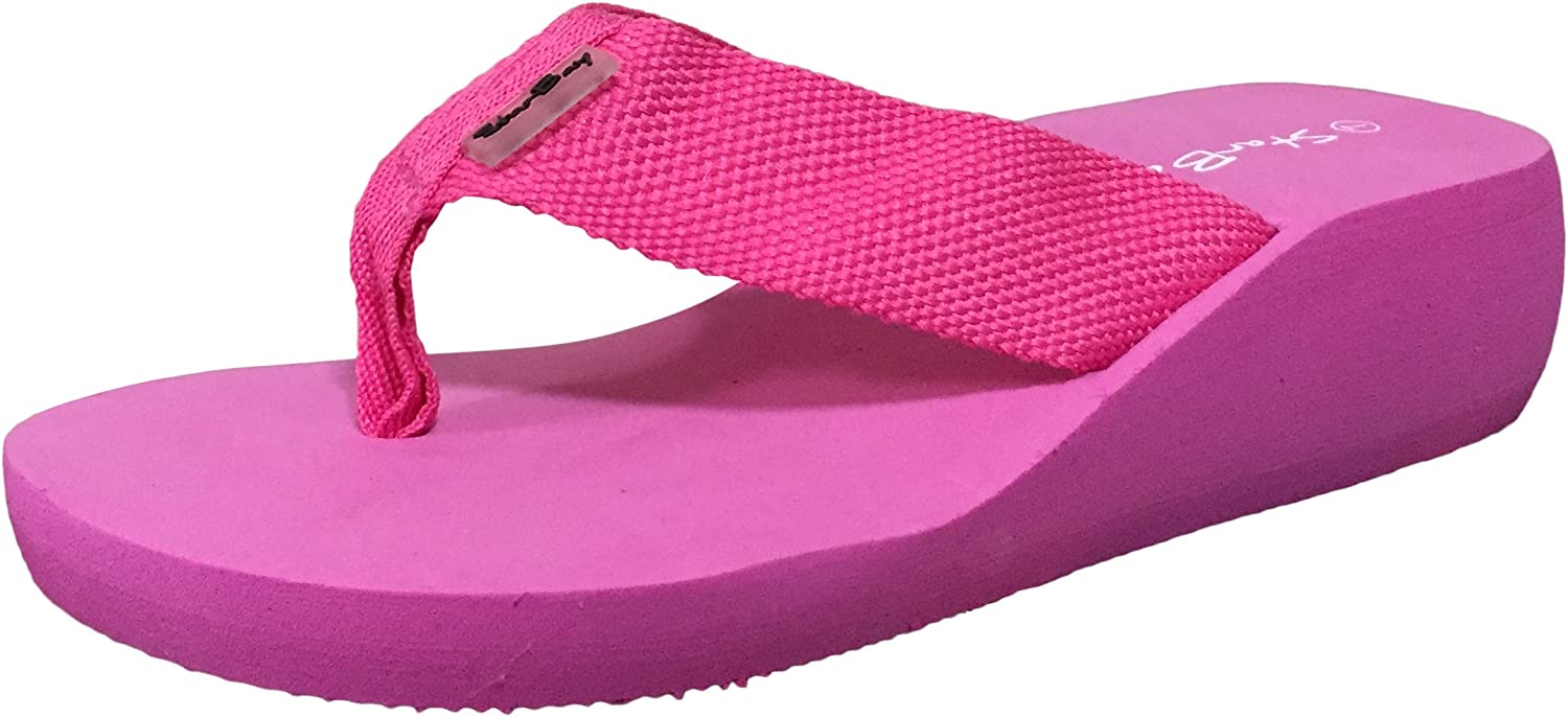 Starbay Women's Lightweight Canvas Thong Sandal Flip Flops