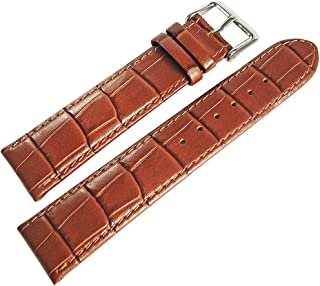 Di-Modell Bali 22mm Tan Alligator-Grain Leather Watch Strap