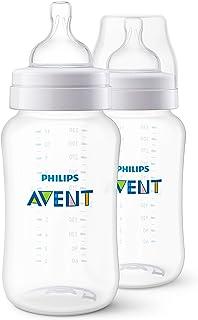 Mamadeira 330 ml Clássica com 2 Unidades, Philips Avent, Transparente
