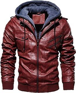 Suchergebnis Auf Für Rote Lederjacke Herren Xs Herren Bekleidung