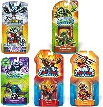 Skylanders SWAP Force & Trap Team Character Bundle Pack (5): Hex, Trap Shadow, Slobber Tooth, Chopper, Torch