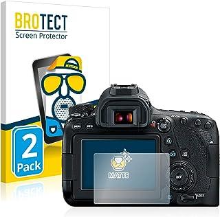 BROTECT Protector Pantalla Anti-Reflejos Compatible con Canon EOS 6D Mark II (2 Unidades) Pelicula Mate Anti-Huellas