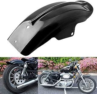 nhanh - Lightweight Black Rear Mudguard For Harley Sportster Bobber Chopper Cafe Racer 1994-2003 Fender