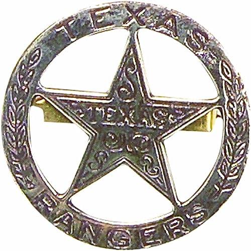 California Ranger Round with Center Star Reproduced Collectible