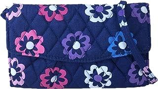 Vera Bradley Strap Wallet Crossbody, Ellie Flowers