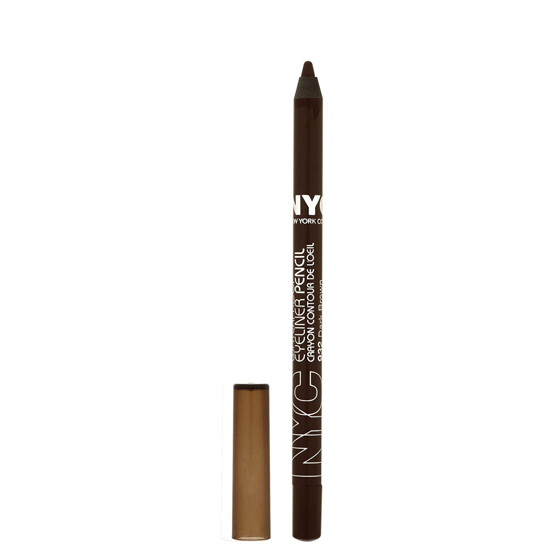 N.Y.C. New York Color Proof 24 0.042 Wholesale Hr Eyeliner WP Brown Bargain Dark