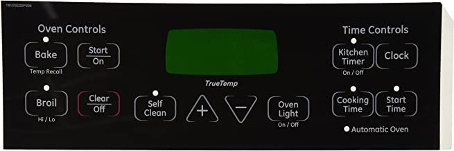 General Electric WB27T11005 Range/Stove/Oven Overlay, Black
