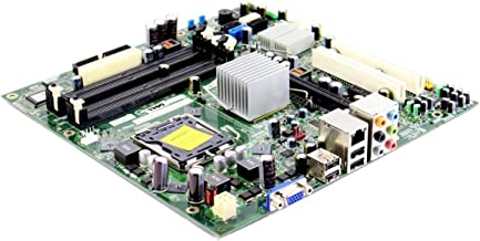 Genuine Dell Motherboard G679R FM586 G33M02 For Inspiron 530, 530s and Vostro 200, 400 Systems Intel G33 Express DDR2 SDRAM Compatible Part Numbers: G679R, RY007, FM586, CU409, RN474, K216C, GN723, G33M02