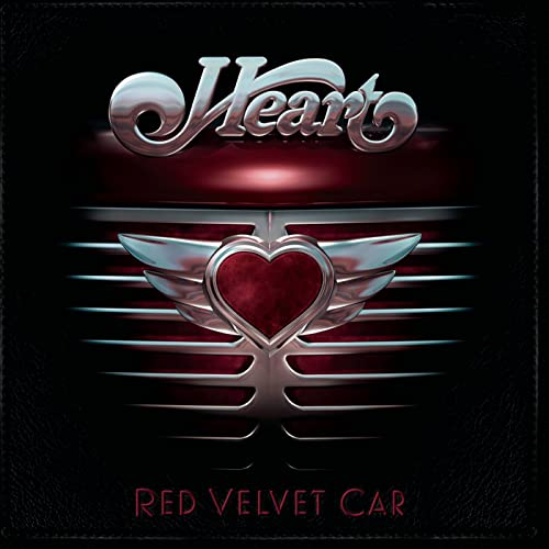 Red Velvet Car Heart product image