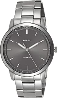 Fossil Mens Quartz Watch, Analog Display and Stainless Steel Strap FS5459