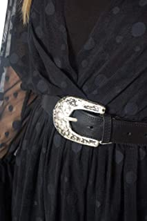Luxury Fashion | Susymix Womens 9933BLACK Black Belt | Fall Winter 19