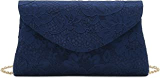 Charming Tailor Classic Lace Clutch Purse Formal Handbag Evening Bag for Prom/Wedding