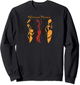 African Sweatshirt for Women - African Dance