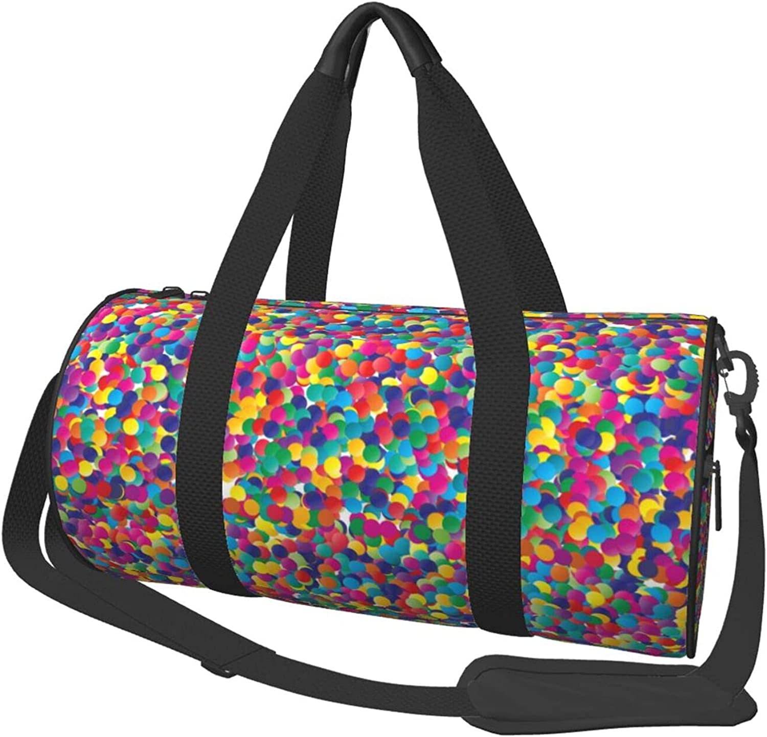 Special price Trust Colorful Polka Dots And Confetti Bag Travel Packable Celebration