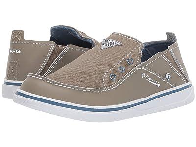 Columbia Kids Bahamatm PFG (Toddler/Little Kid/Big Kid) (Pebble/White) Boys Shoes
