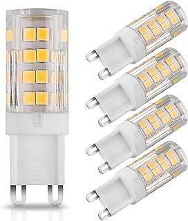 G9 LED Dimmable Light Bulbs, EEEKit 5 Pcs Bi-pin Base, Warm White 3000k, 5W LED G9 Bulb Lighting Equivalent 40W Halogen Bulbs Replacement, Corn Light Bulb for Home Lighting, livingroom Bedroom