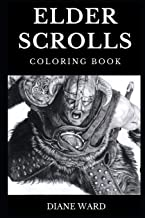 Elder Scrolls Coloring Book: Legendary Oblivion and Skyrim Open World RPG Story, Dragonborn and Fantasy Art Inspired Adult Coloring Book (Elder Scrolls Books)