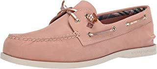 Sperry Women's Authentic Original Plushwave Leather Boat Shoe