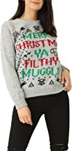 Momo&Ayat Fashions Ladies Mens Merry Christmas You Filthy Muggle Xmas Jumper US Size 4-14