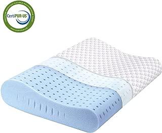 Milemont Memory Foam Pillow, Cervical Pillow for Neck...