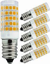 Set van 5 E14 LED lampen 4 W Vervangt 40W Warm wit, 220 V 230 V, 3000 K 430 lumen, Slaapkamer wandlamp Woonkamer kroonluch...