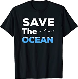Save The Ocean Sea Conservation Biology Marine Biologist T-Shirt