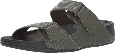 FitFlop Men's Gogh Sport Slide Adjustable Sandal,