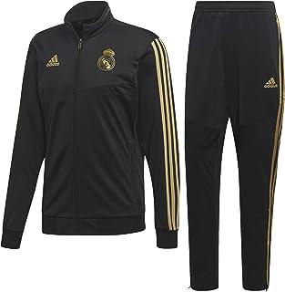 288cd73692e7f adidas 2019-2020 Real Madrid PES Tracksuit (Black)
