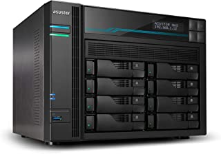 New BA-AS6508T AS6508T, ASUSTOR AS6508T 8 Bay LOCKERSTOR 8 NAS Intel Atom C3538 Quad CORE 2.1GHZ 8GB DDR4 2X2.5GBE 2X10GBE...