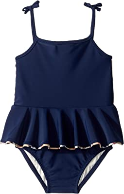 2d20fd6b35 Luxury. Navy. 18. Burberry Kids. Ludine ABUCF One-Piece (Infant/Toddler)