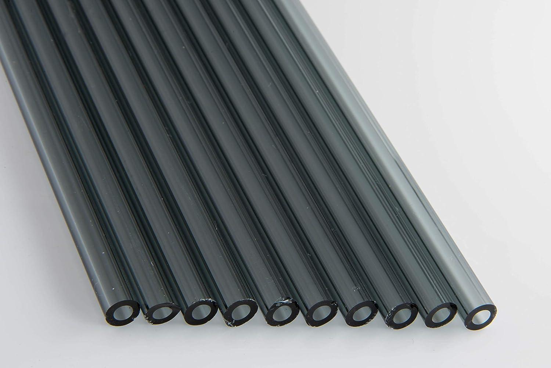 Devardi Glass COE quality assurance 33 70% OFF Outlet Boro Tubes 8mm Transparent Black Borosi 10