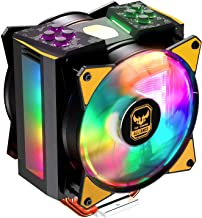 Cooler Master RR-212S-20PC-R1 Hyper 212 RGB Black Edition CPU Air Cooler 4 Direct Contact Heat pipes 120mm RGB Fan (Renewed)