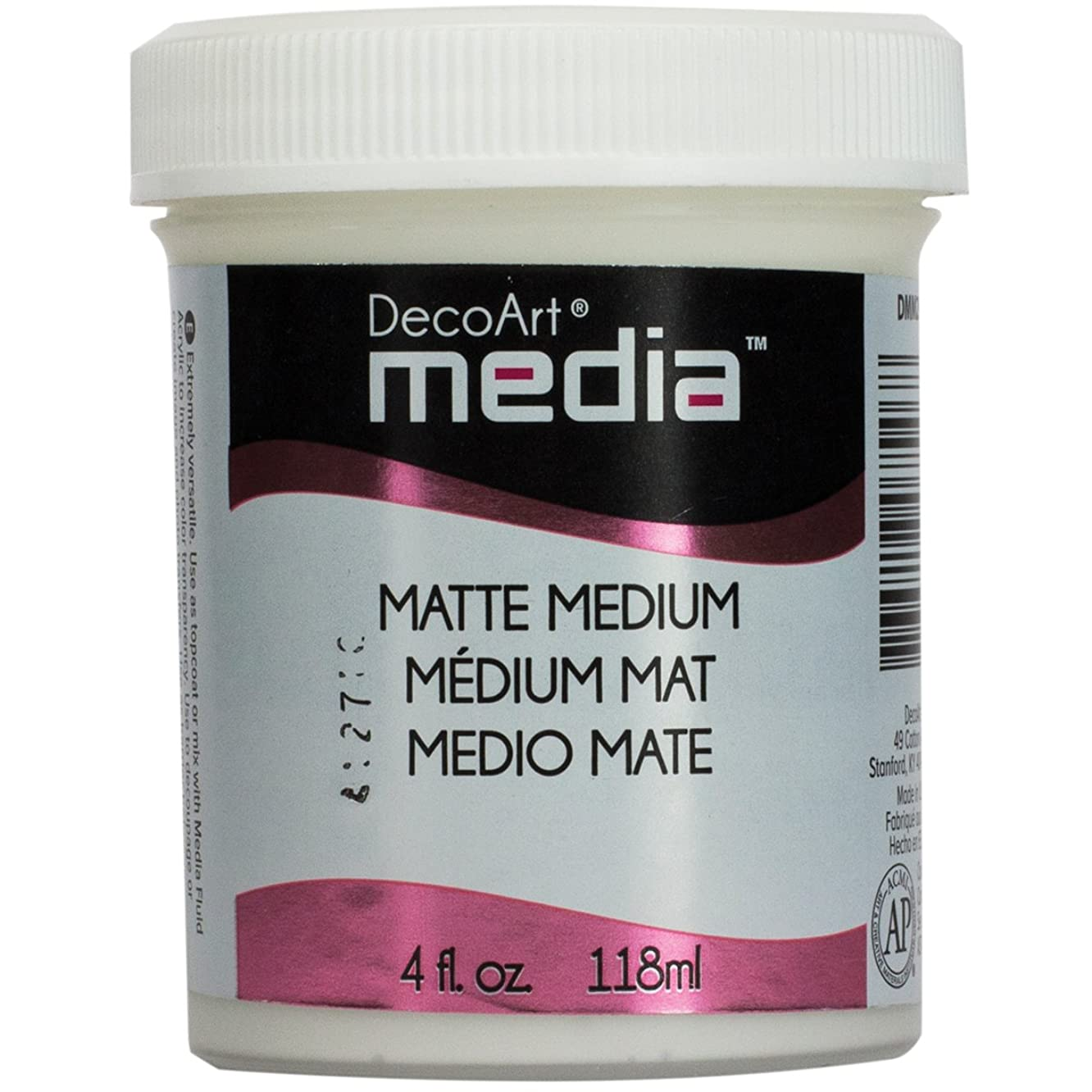 Deco Art Media Medium Matte, 4 oz