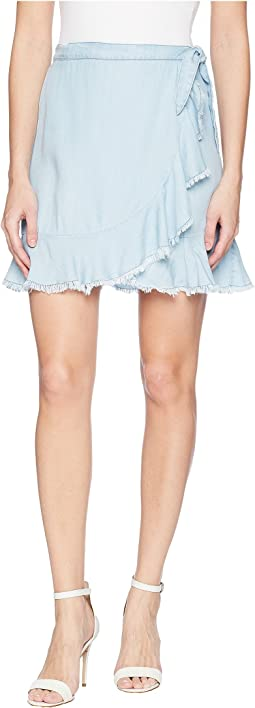 BB Dakota - Janelle Chambray Wrap Skirt