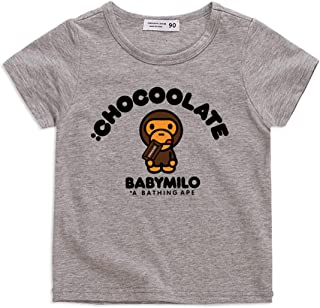 GD-Clothes Baby Milo Summer Short Sleeve T-Shirts for Kids 100% Cotton Cartoon Tees