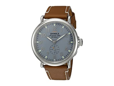 Shinola Detroit The Runwell 41mm 10000024 (Slate Blue/Brown) Watches