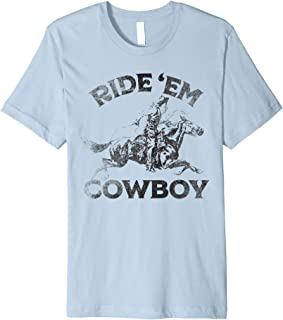 Vintage Cowgirl Woman's Country Ride'em Cowboy Horse Riding