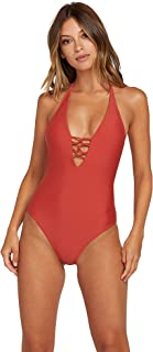 Women's Simply Solid One Piece Swimsuit