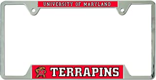 WinCraft NCAA University of Maryland Metal License Plate Frame