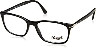 Men's PO3189V Eyeglasses, 95 Black W/ Demo Lens, 55/18/145