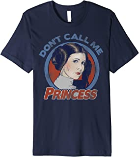 Star Wars Leia Don't Call Me Princess Premium T-Shirt