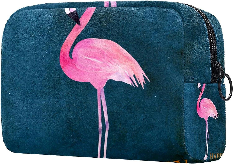 Makeup Bag Portable Phoenix Mall Travel Cosmetic halloween flamin ...