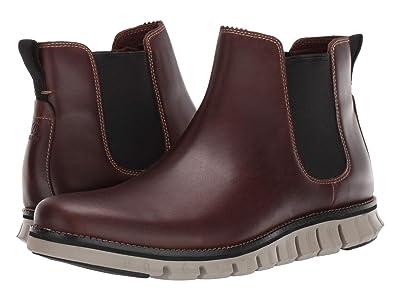Cole Haan Zerogrand Chelsea WP (Waterproof Bourbon Leather/Hawthron) Men
