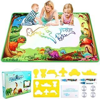 Water Drawing Mat, Betheaces Kids Toys Extra Large Aqua Magic Doodle Mats Children Mess Free Colouring Painting Pad Writin...