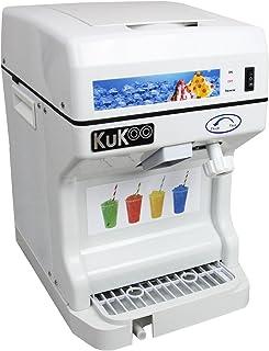 KUKOO - Máquina para Cortar el Hielo para Granizados y Postres 120kg con Hoja de Acero